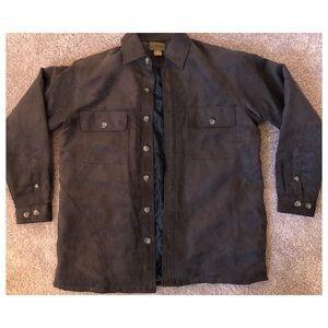 Men's Faux Suede Jacket